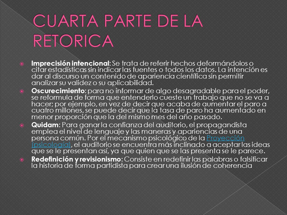 CUARTA PARTE DE LA RETORICA