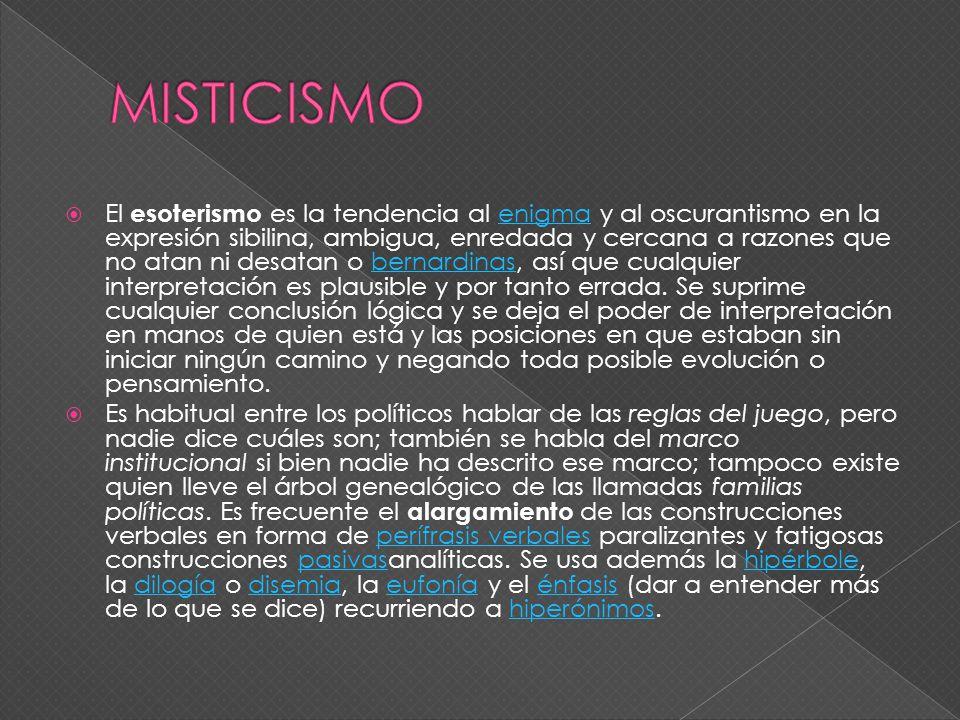 MISTICISMO