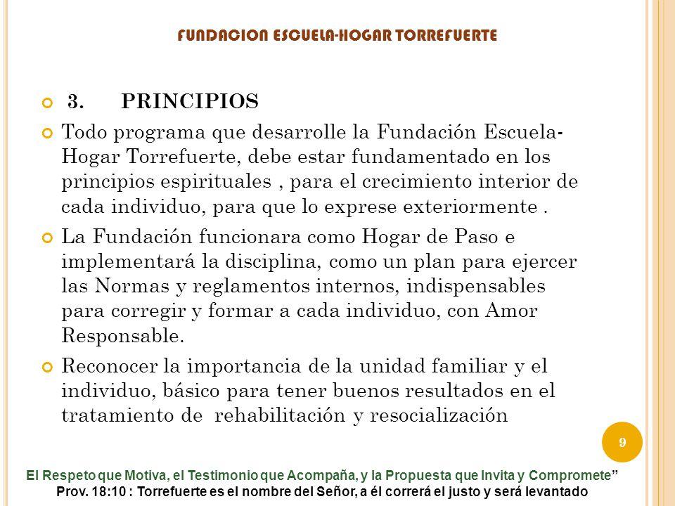FUNDACION ESCUELA-HOGAR TORREFUERTE