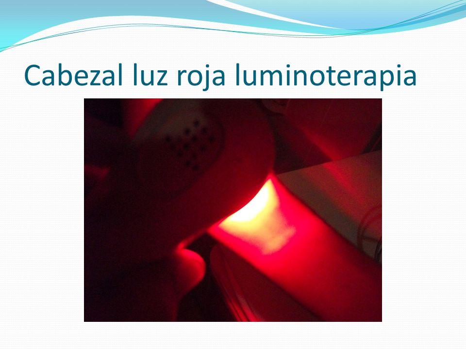 Cabezal luz roja luminoterapia
