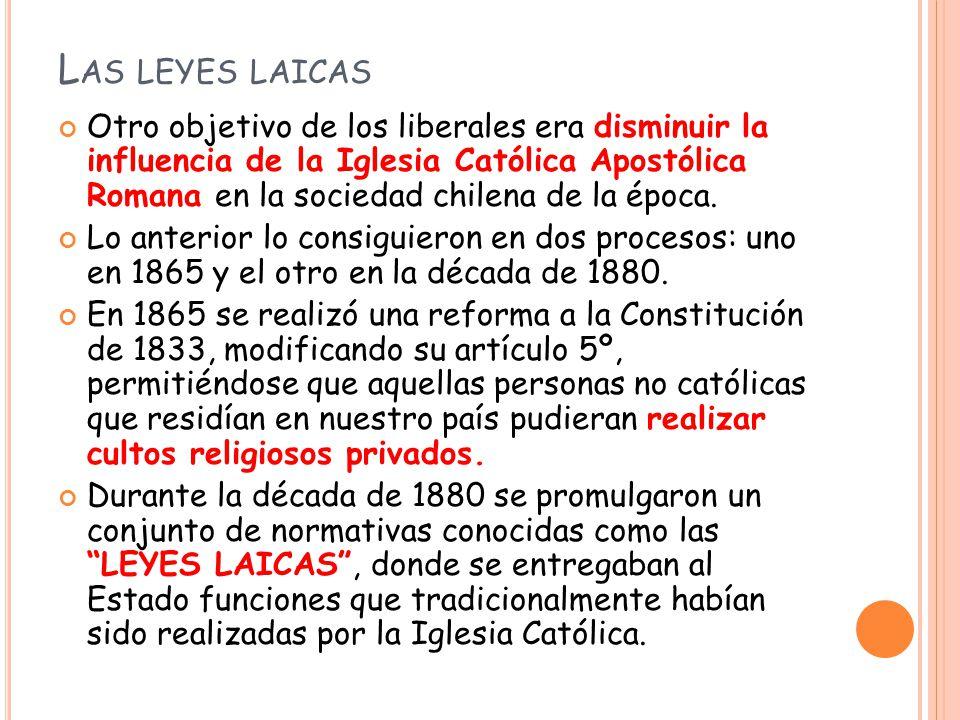 Las leyes laicas