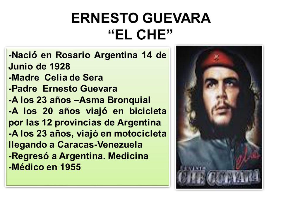 ERNESTO GUEVARA EL CHE