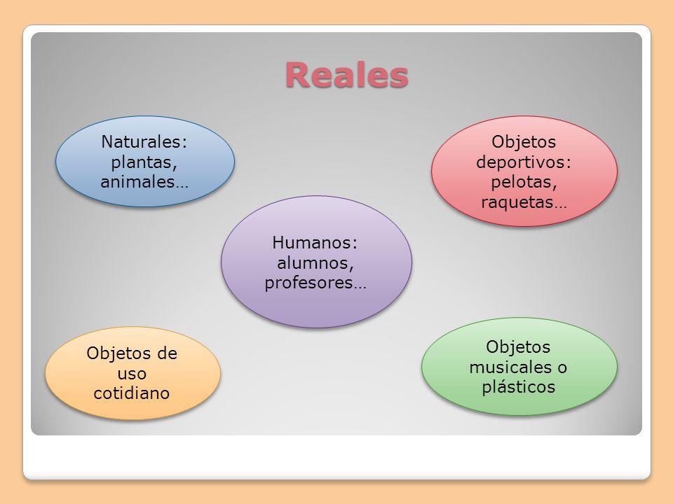 Reales Naturales: plantas, animales…