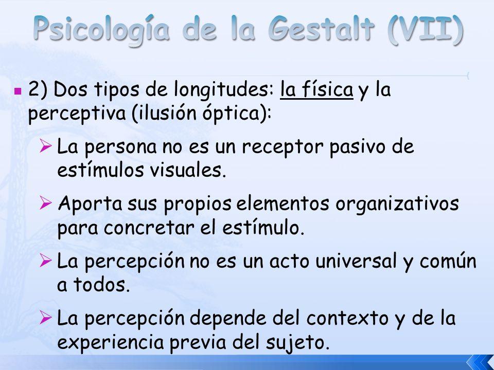 Psicología de la Gestalt (VII)