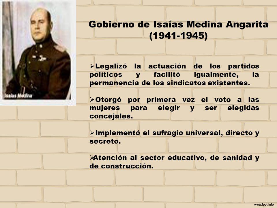 Gobierno de Isaías Medina Angarita