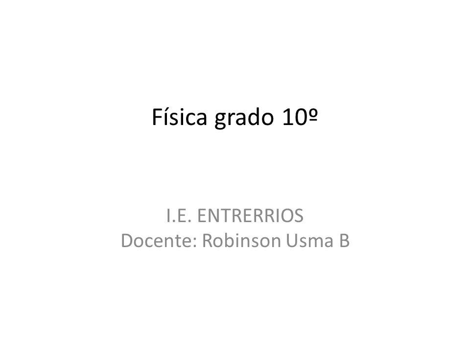 I.E. ENTRERRIOS Docente: Robinson Usma B