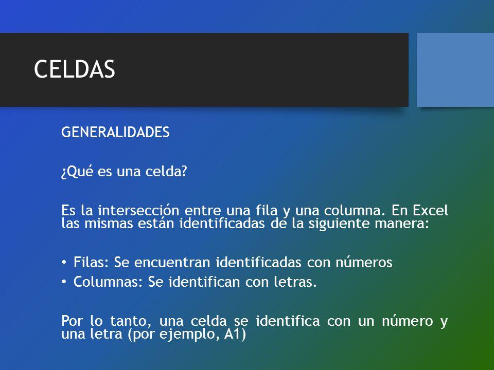 CELDAS GENERALIDADES ¿Qué es una celda