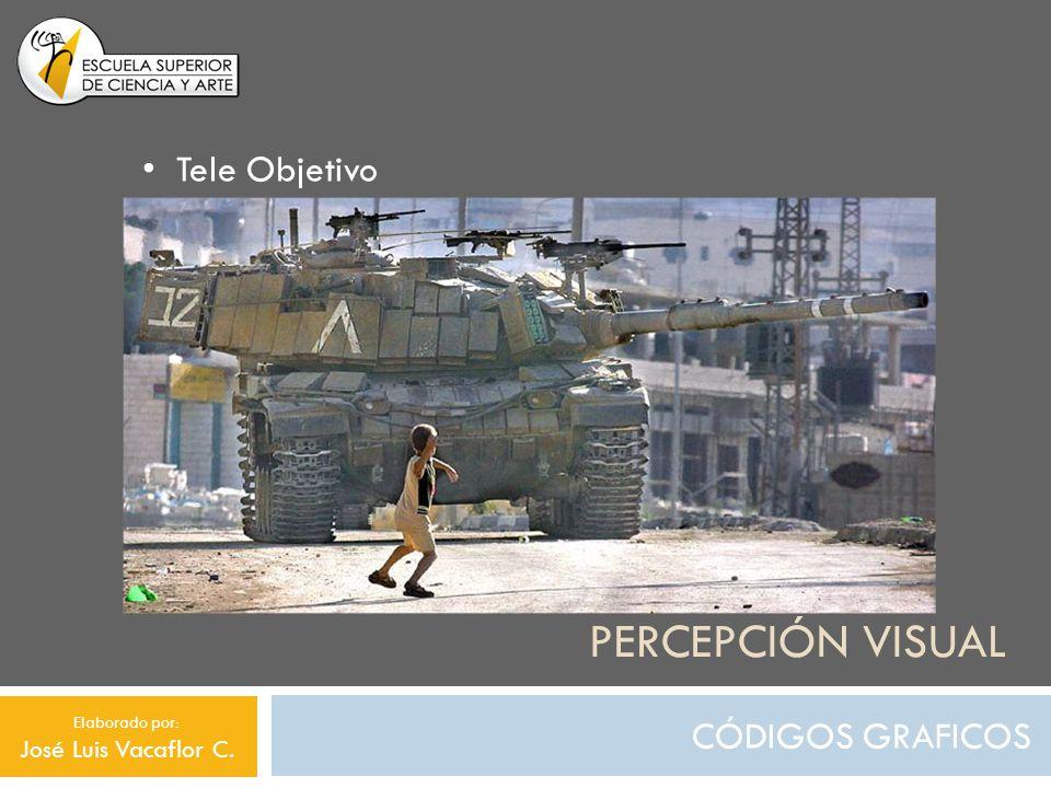 Percepción visual Tele Objetivo CÓDIGOS GRAFICOS José Luis Vacaflor C.