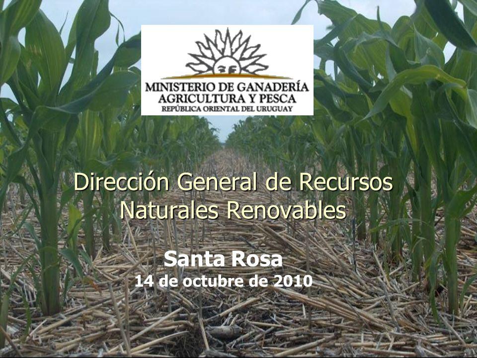 Dirección General de Recursos Naturales Renovables