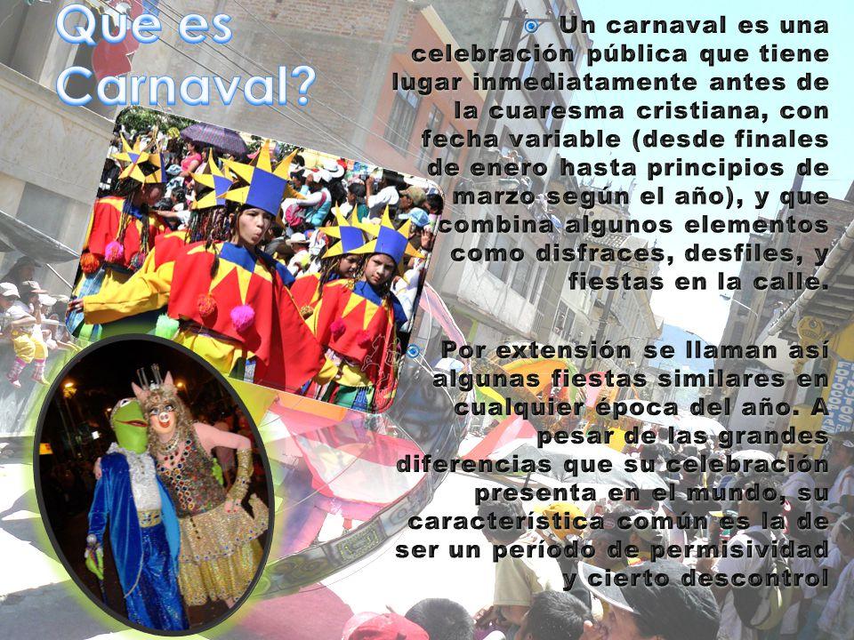 Que es Carnaval