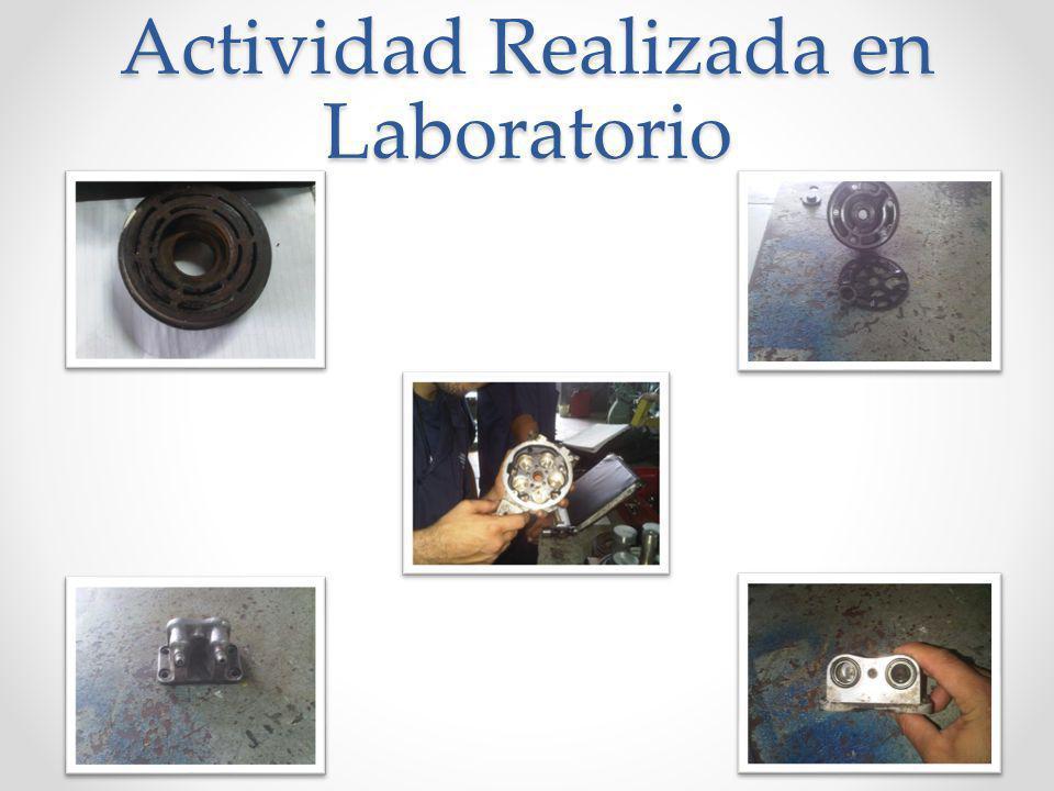Actividad Realizada en Laboratorio