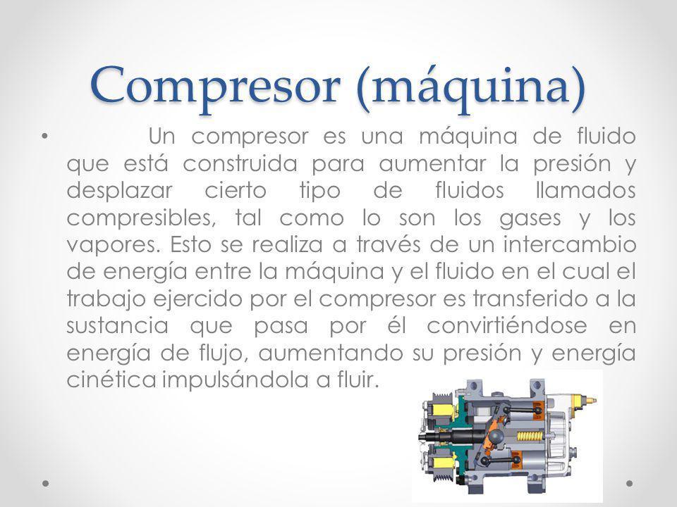 Compresor (máquina)