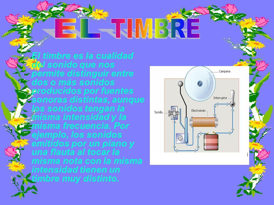 EL TIMBRE.