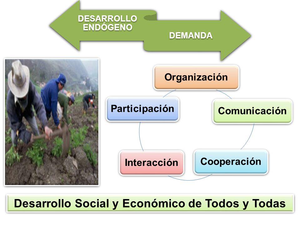 Desarrollo Social y Económico de Todos y Todas