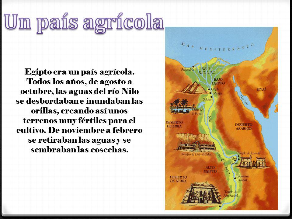 Un país agrícola