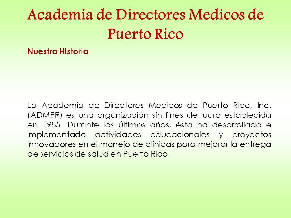 Academia de Directores Medicos de Puerto Rico