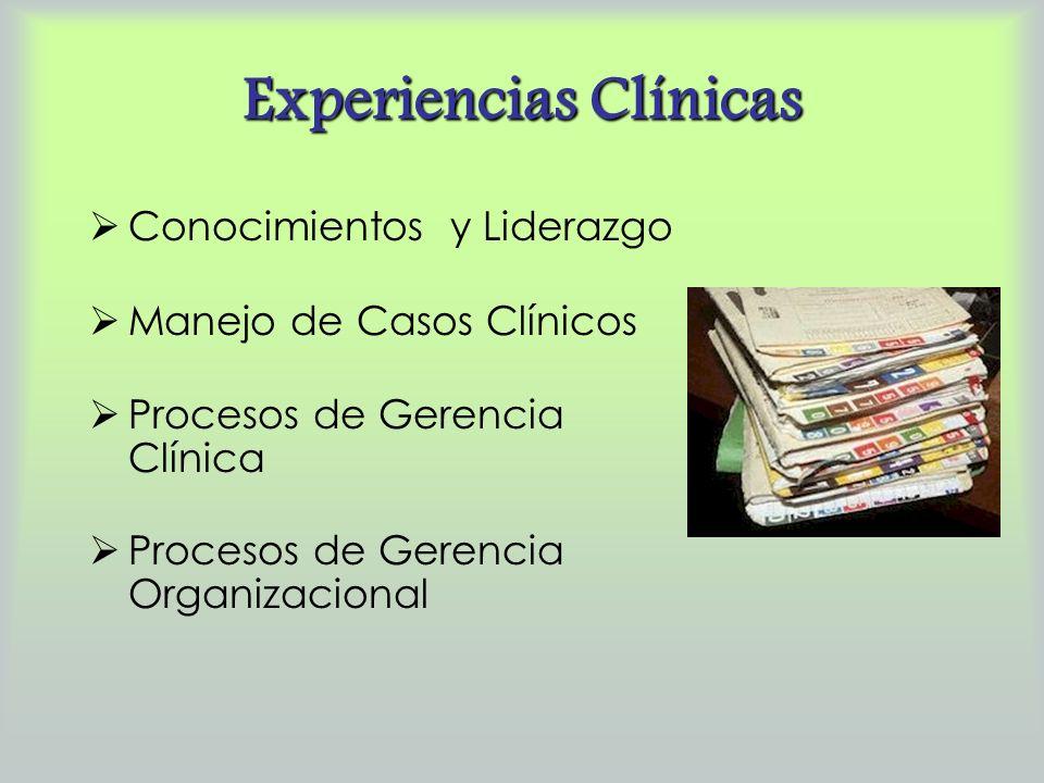 Experiencias Clínicas