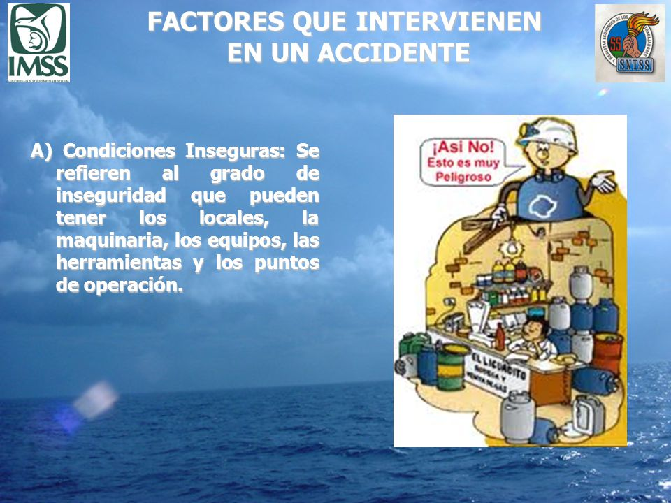 FACTORES QUE INTERVIENEN EN UN ACCIDENTE