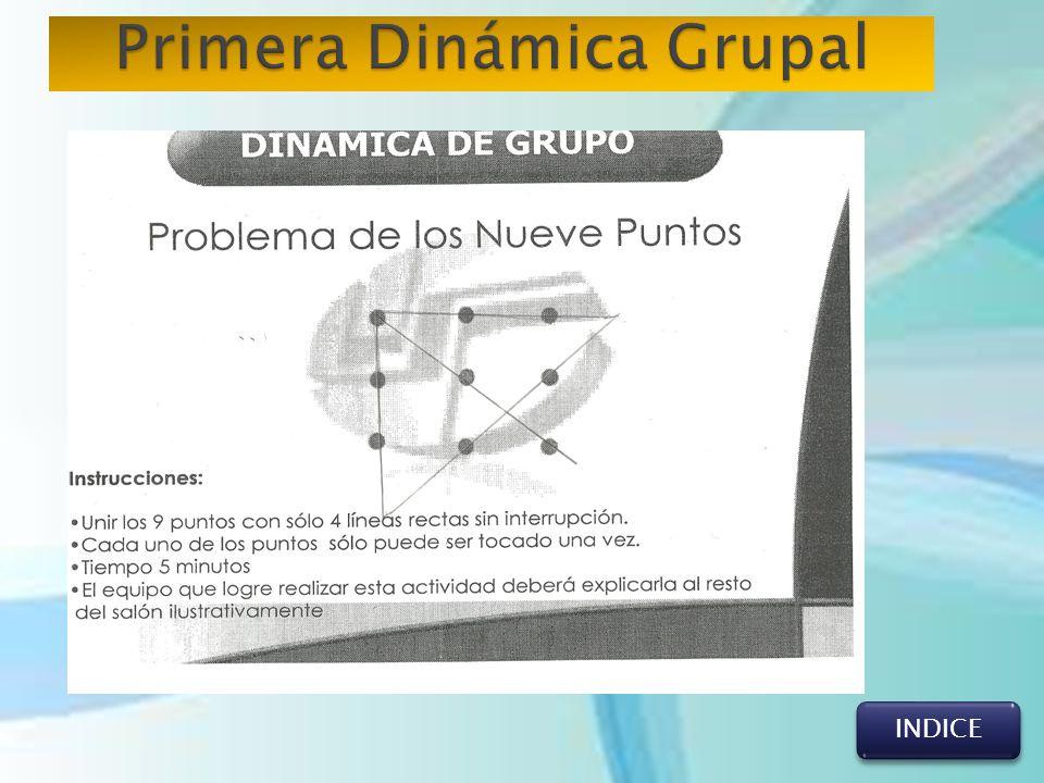 Primera Dinámica Grupal