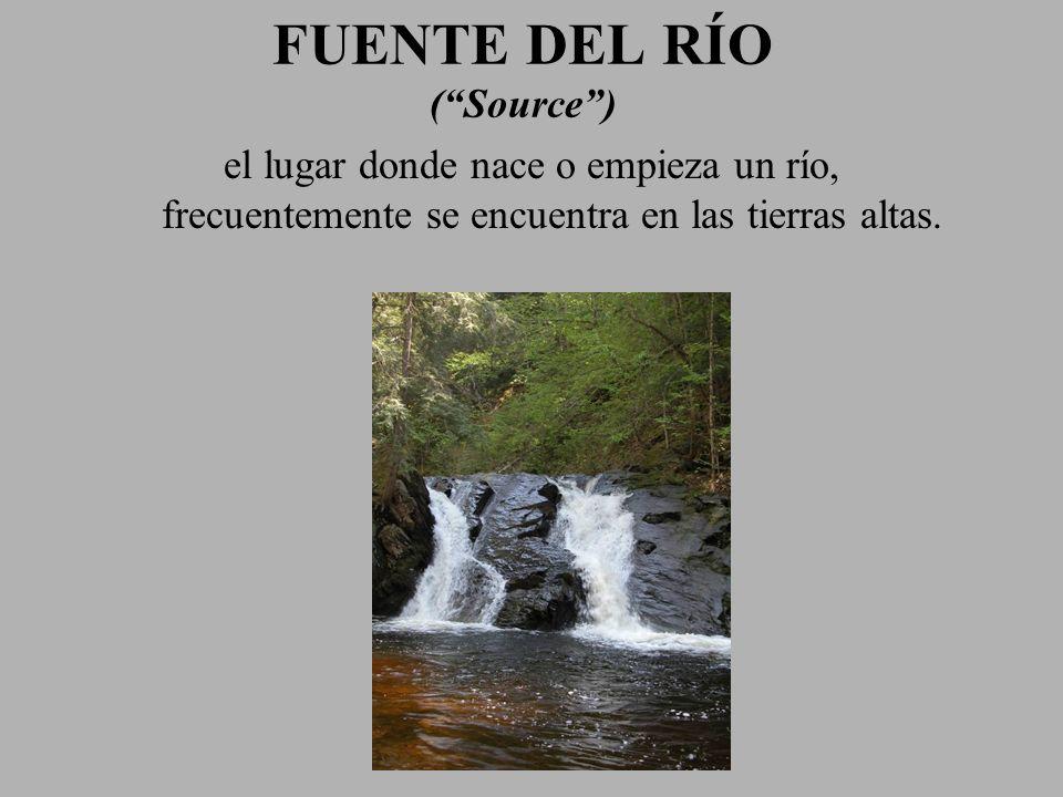 FUENTE DEL RÍO ( Source )