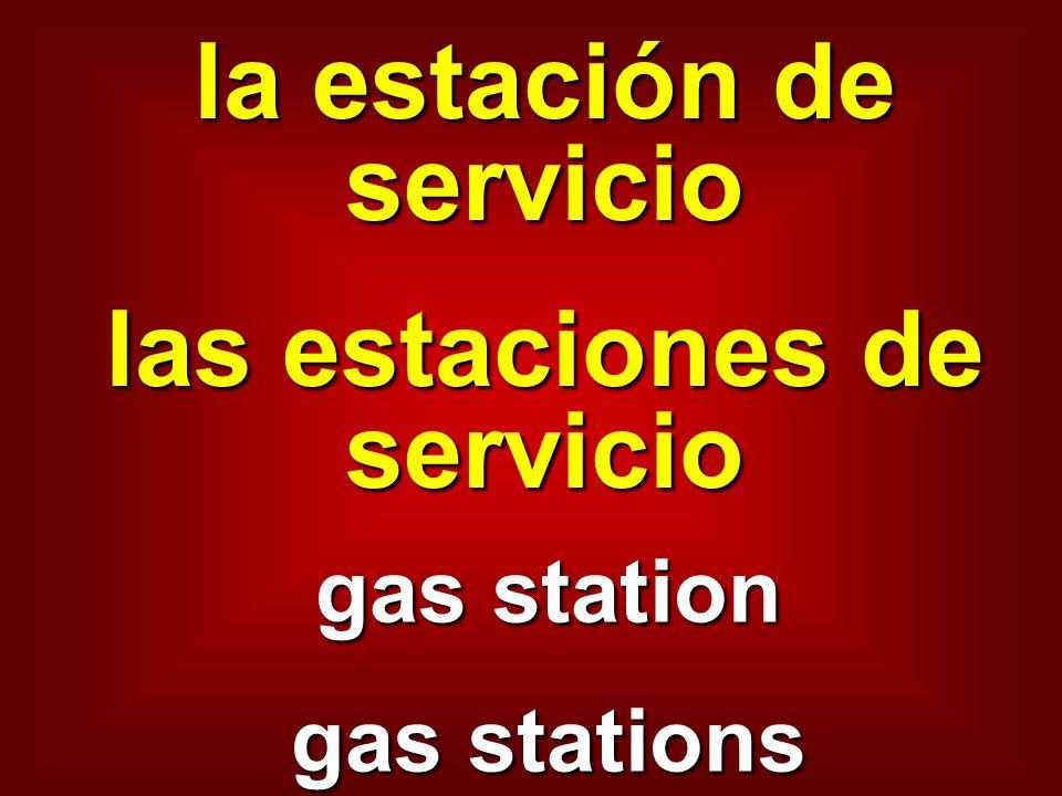 la estación de servicio las estaciones de servicio