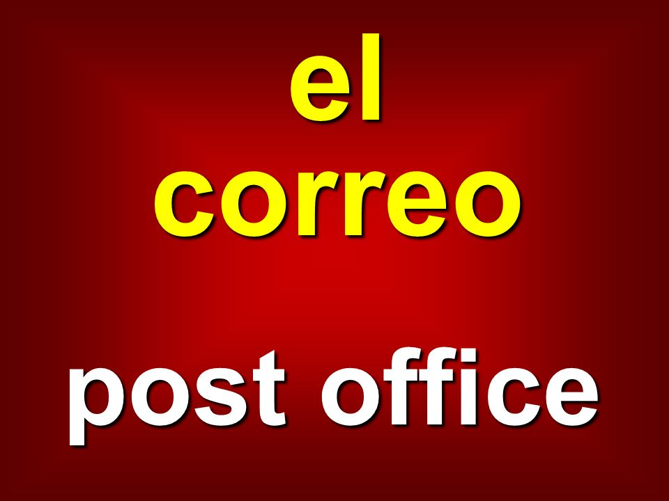 el correo post office