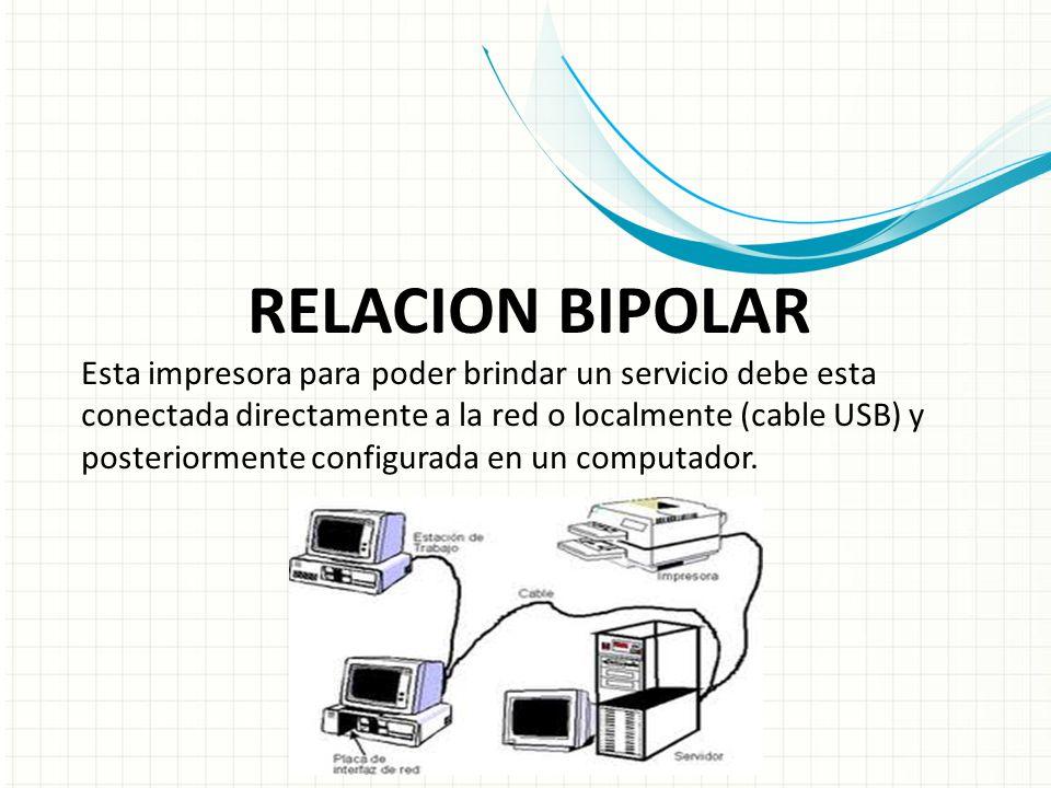 RELACION BIPOLAR