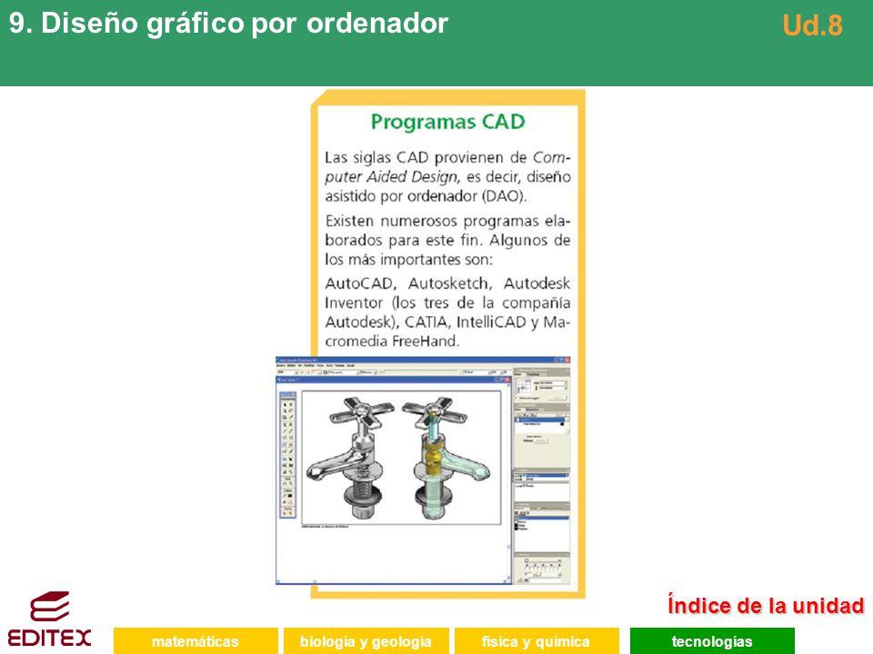 9. Diseño gráfico por ordenador Ud.8