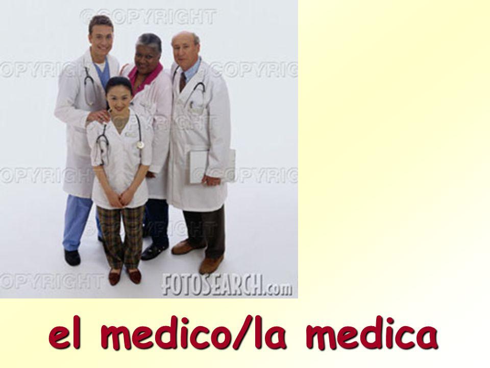 el medico/la medica