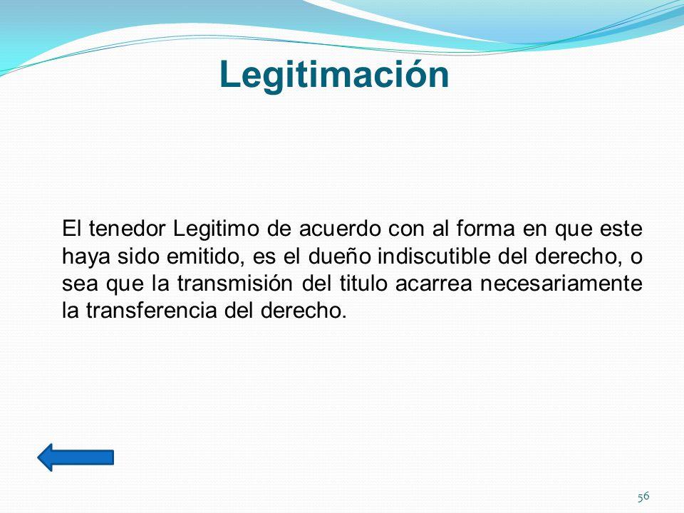 Legitimación