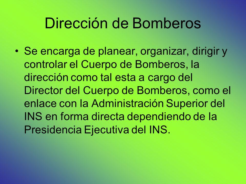 Dirección de Bomberos