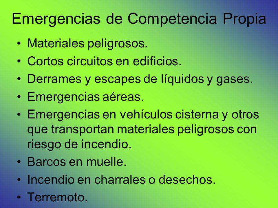 Emergencias de Competencia Propia