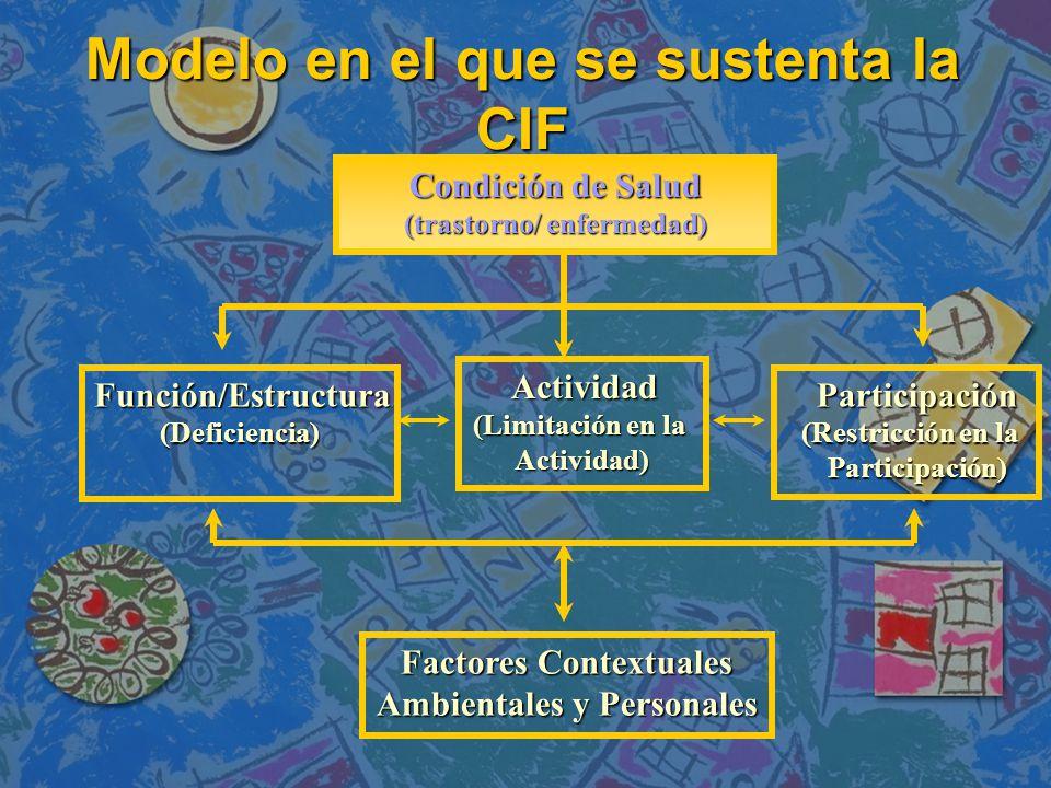 Modelo en el que se sustenta la CIF