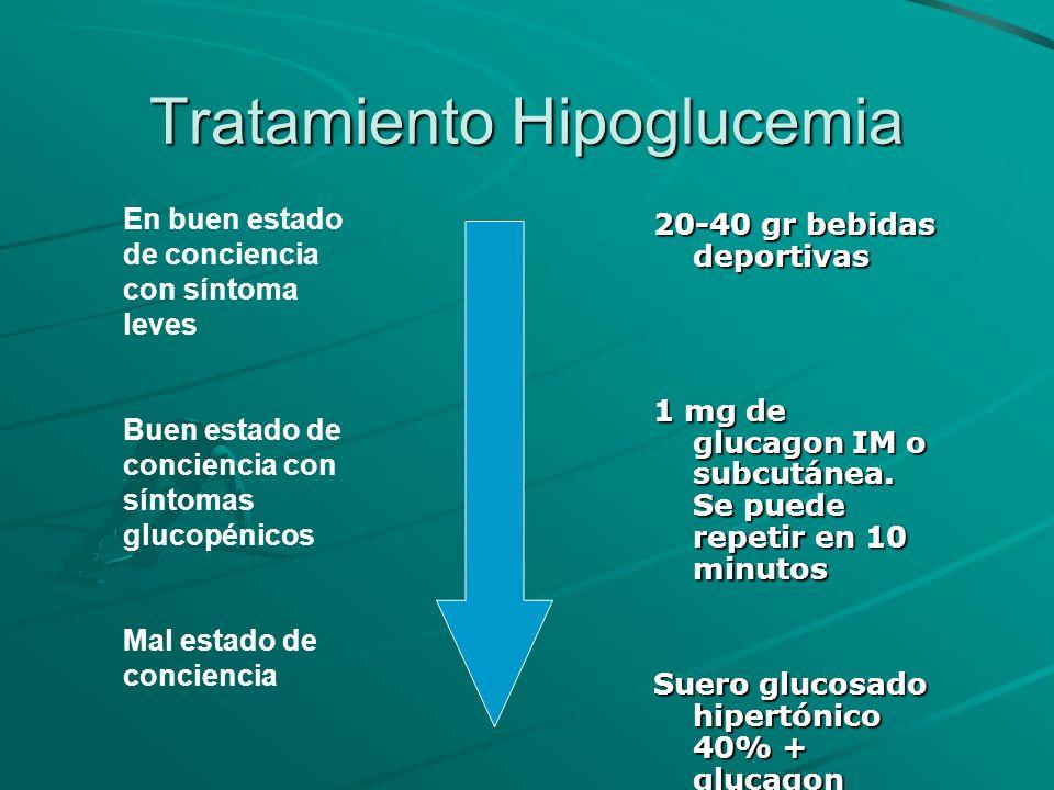 Tratamiento Hipoglucemia