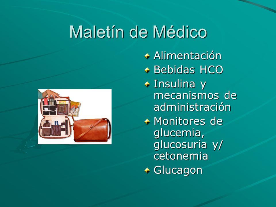 Maletín de Médico Alimentación Bebidas HCO