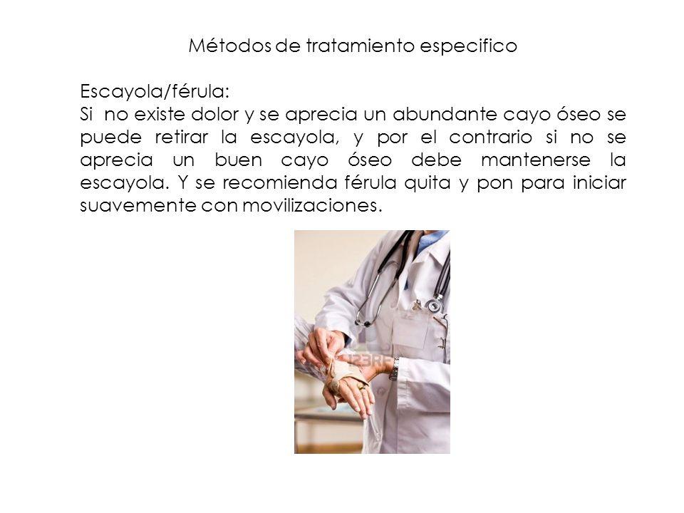 Métodos de tratamiento especifico