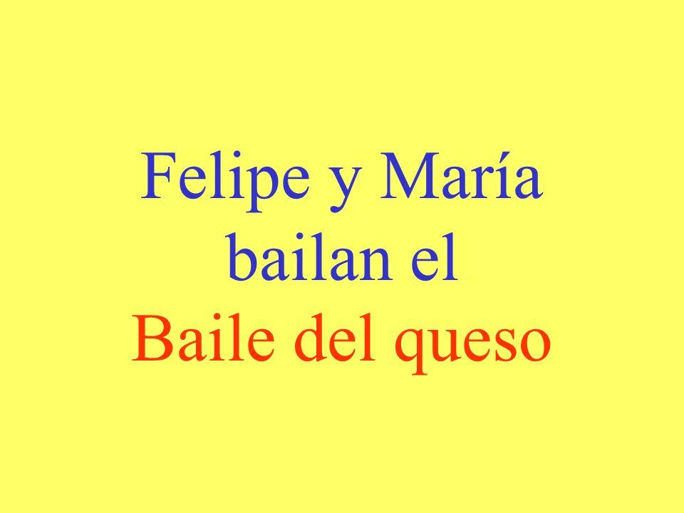 Felipe y María bailan el