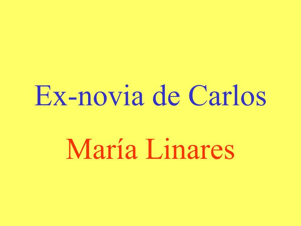 Ex-novia de Carlos María Linares