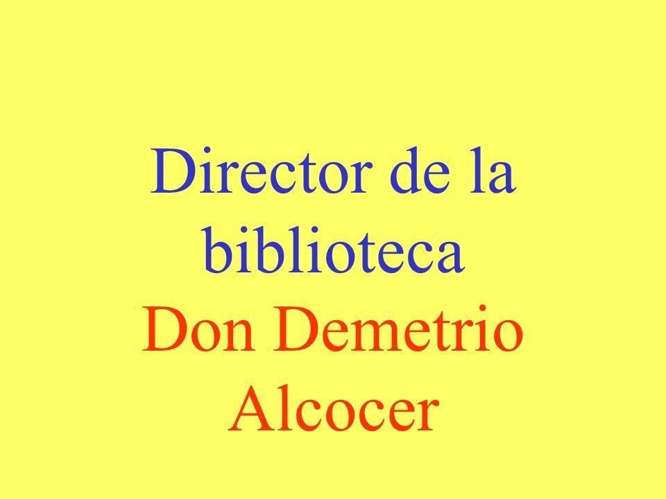 Director de la biblioteca