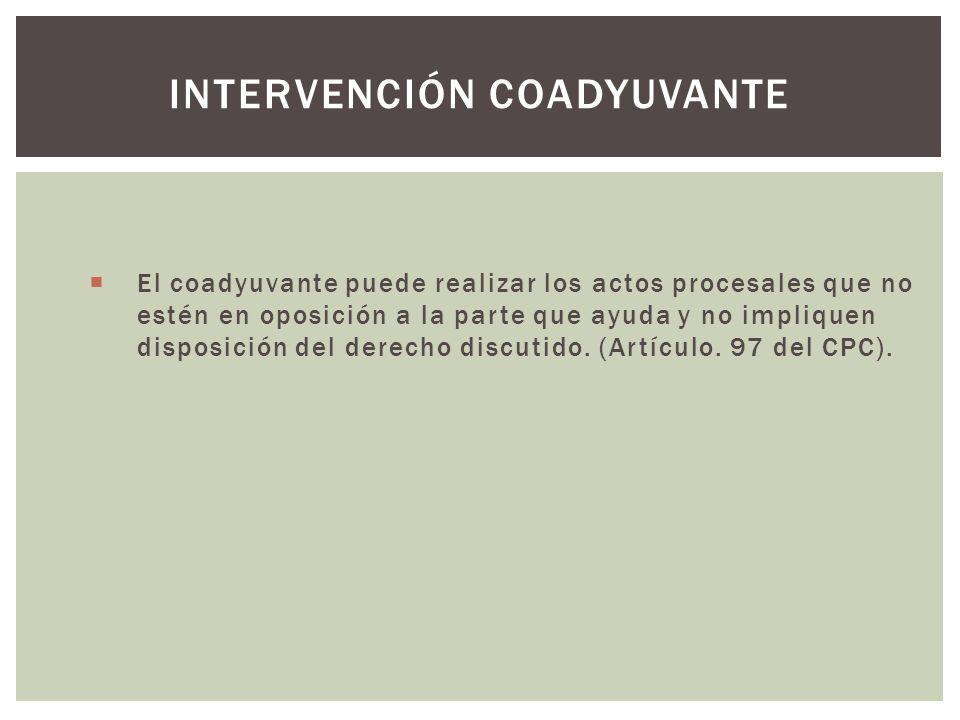 Intervención coadyuvante