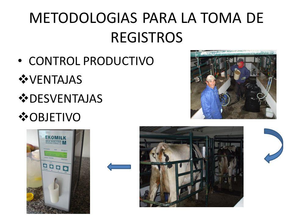 METODOLOGIAS PARA LA TOMA DE REGISTROS