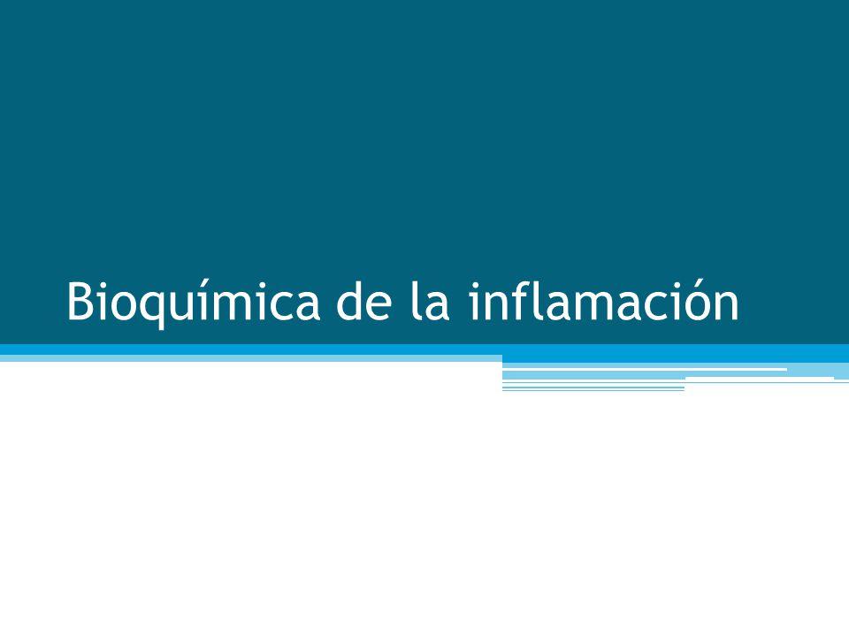 Bioquímica de la inflamación