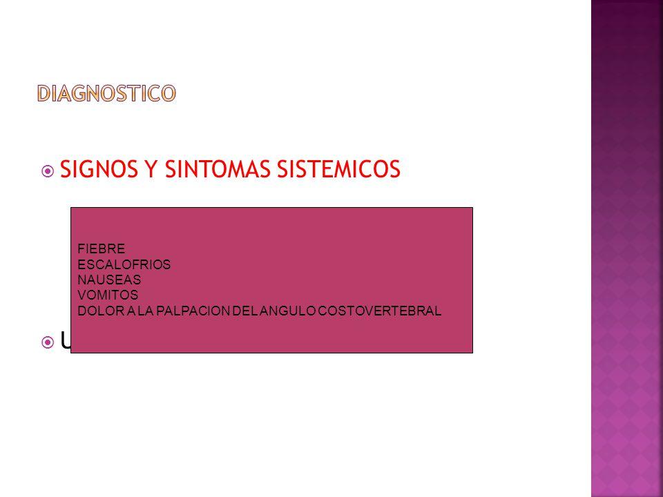 SIGNOS Y SINTOMAS SISTEMICOS