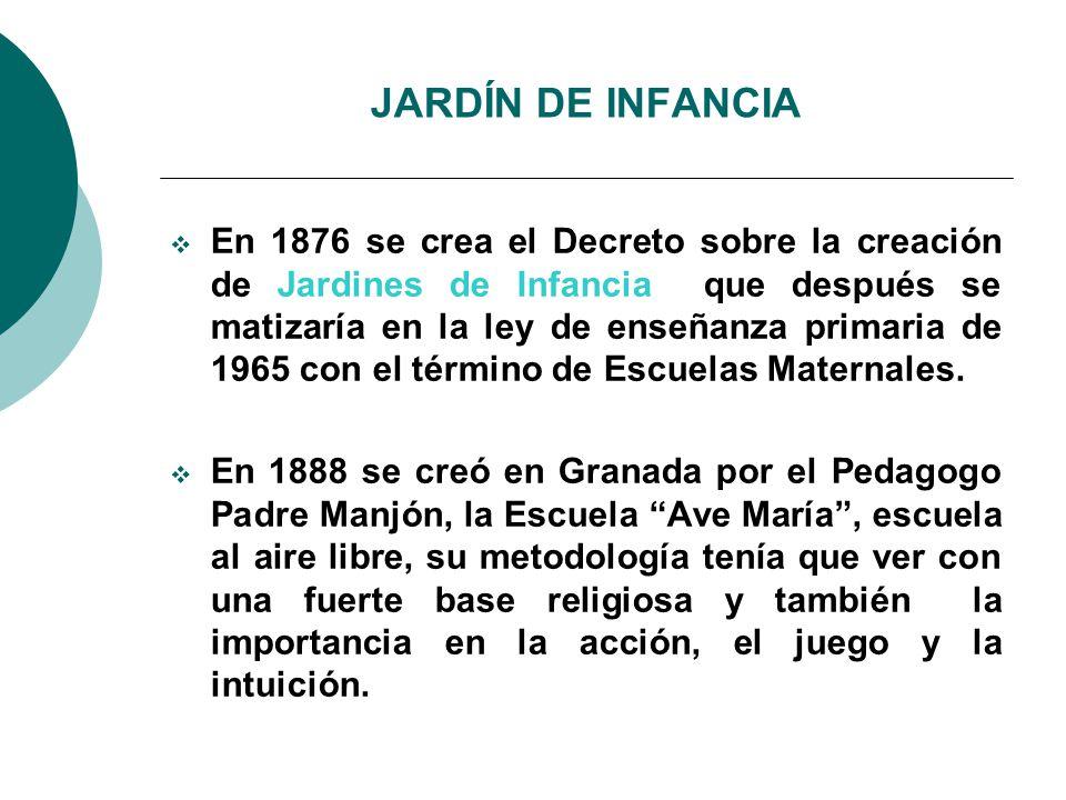 JARDÍN DE INFANCIA
