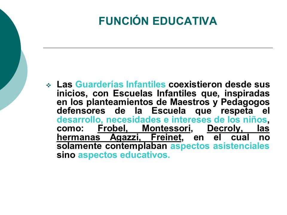 FUNCIÓN EDUCATIVA
