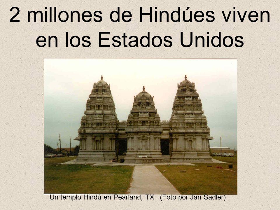 2 millones de Hindúes viven en los Estados Unidos