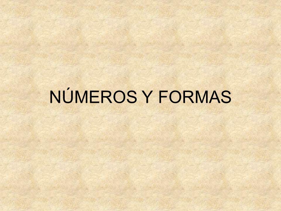 NÚMEROS Y FORMAS