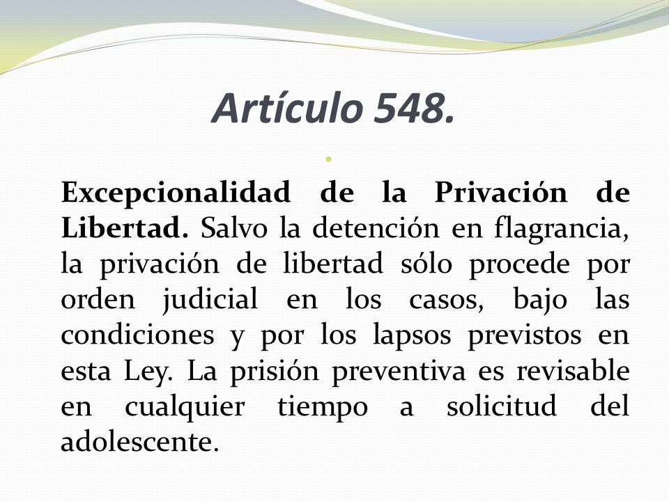 Artículo 548.