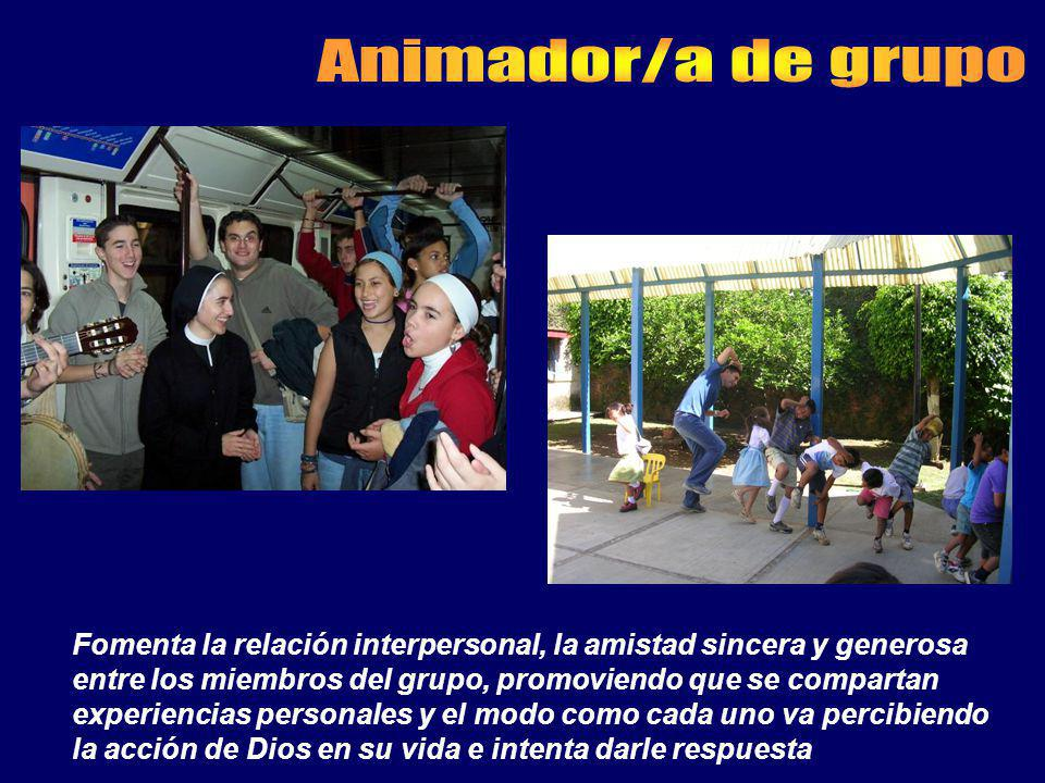 Animador/a de grupo