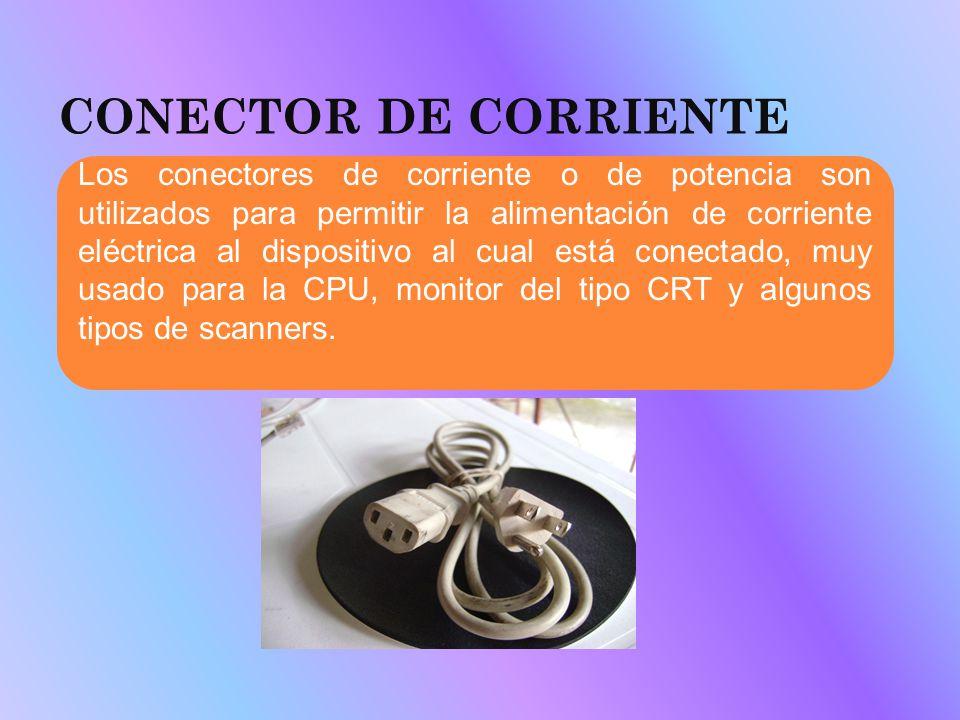 CONECTOR DE CORRIENTE